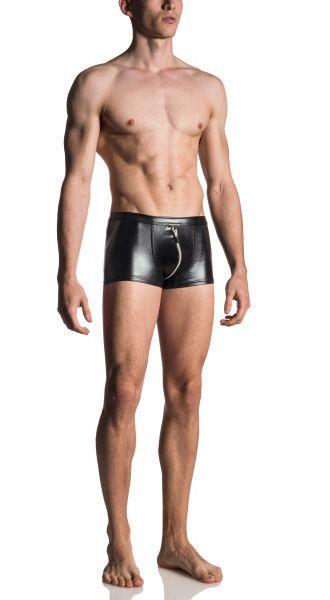 Manstore Zip Boxershorts schwarz