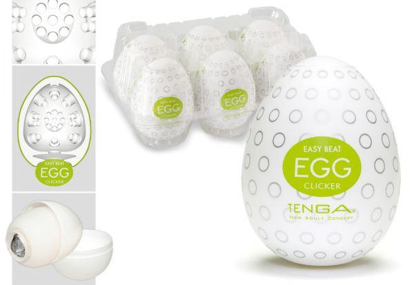 Tenga Egg Clicker 6er