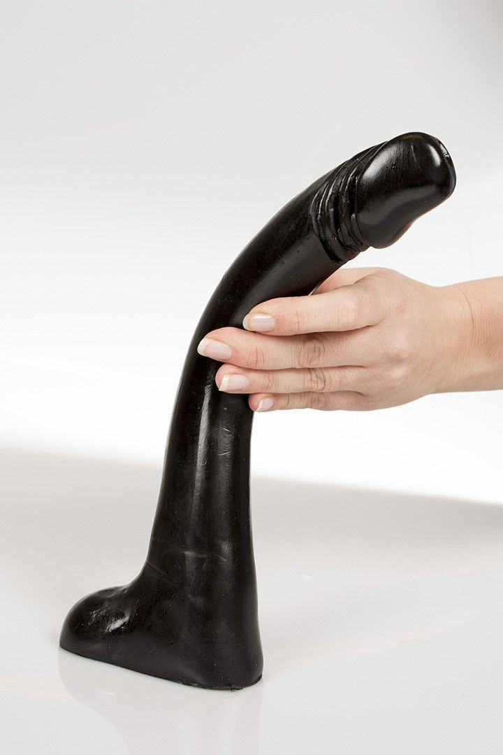 Dark Crystal Dildo krummer Lurch 30 x 3,5 cm