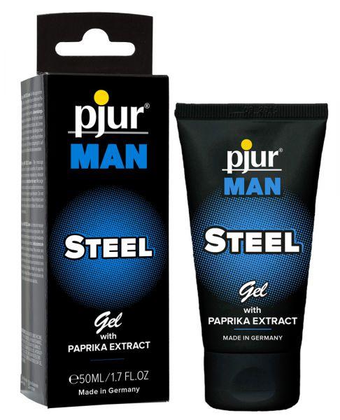 pjur MAN STEEL Potenzgel 50 ml