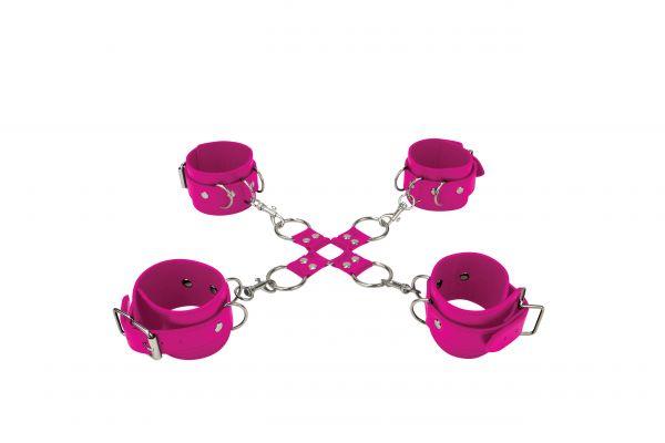 Handschellen Voll im Griff pink