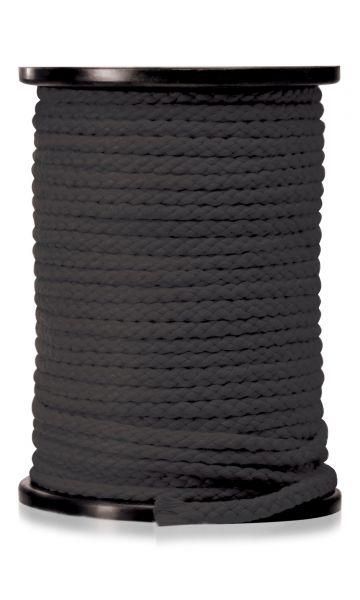 Bondage Seil schwarz 60 Meter
