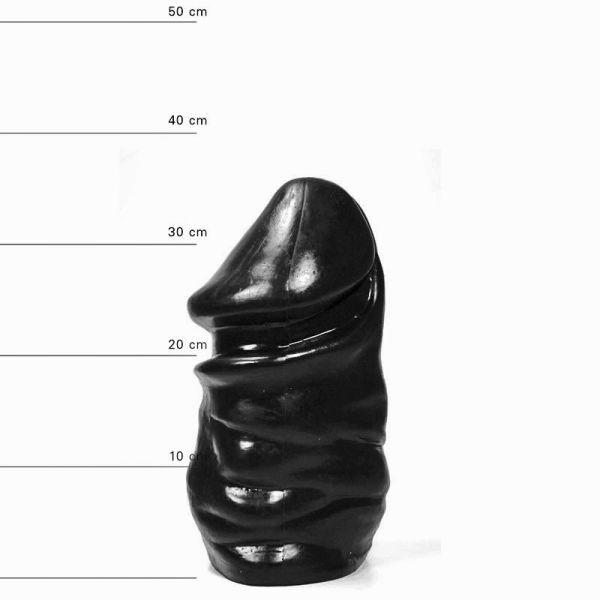 All Black Butt Buddy Mega Dildo 32 x 16,5 cm