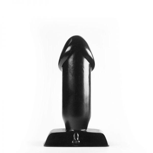 Analplug Dödel schwarz 10 x 4 cm