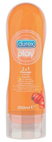 Durex Play 2 in 1 Gleit- und Massagegel Guarana 200 ml