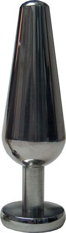 Mister B Stainless Edelstahl Analplug 14,5 x 4,5 cm
