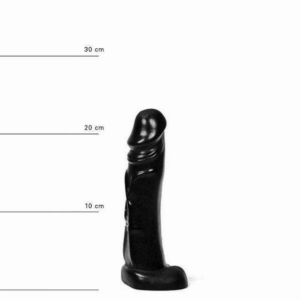 All Black Heiko Dildo 22 x 4,5 cm
