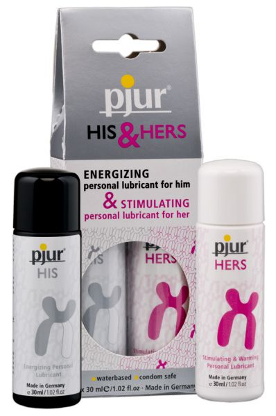 pjur His & Hers Gleitmittelset 2 x 30 ml