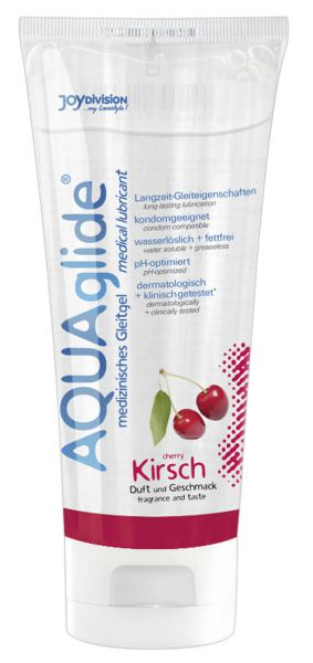 Gleitmittel Aquaglide Kirsche 100 ml