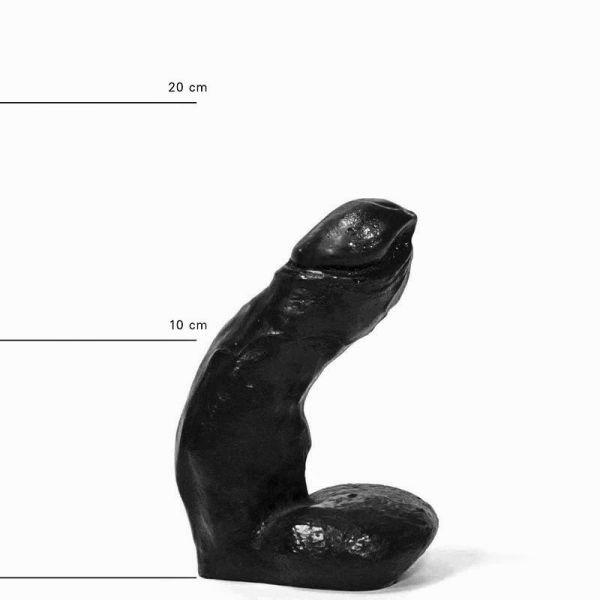All Black Jason Dildo 15 x 4 cm