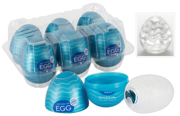 Tenga Egg Cool 6er