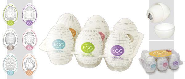 Tenga Egg Variety 6er